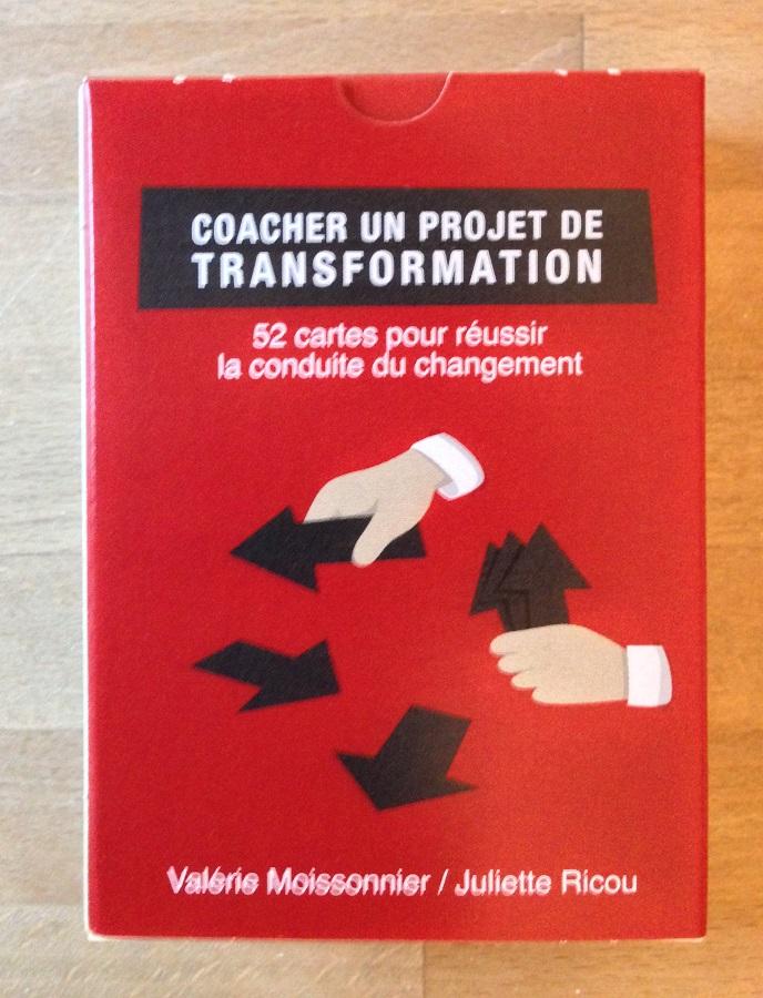 jeu de carte coacher la transformation